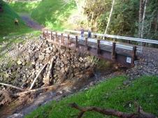 Downstream side of Bridge