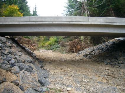 New bridge, looking downstream